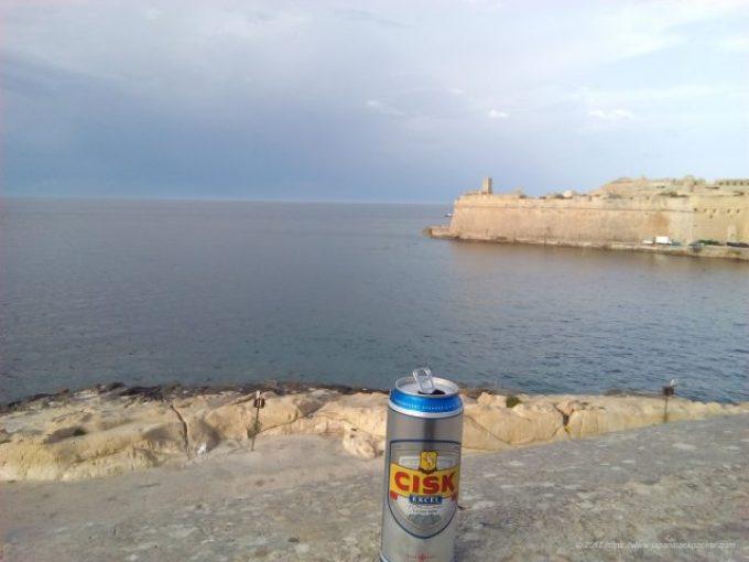 マルタ島のビール