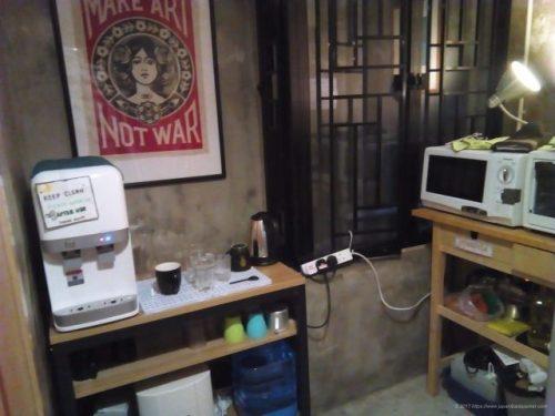 香港のゲストハウスHop Inn on Modyのキッチン