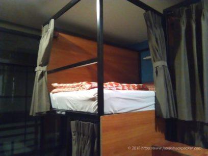 ZZZ Hostelのベッド