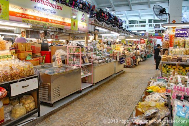 食料品コーナー