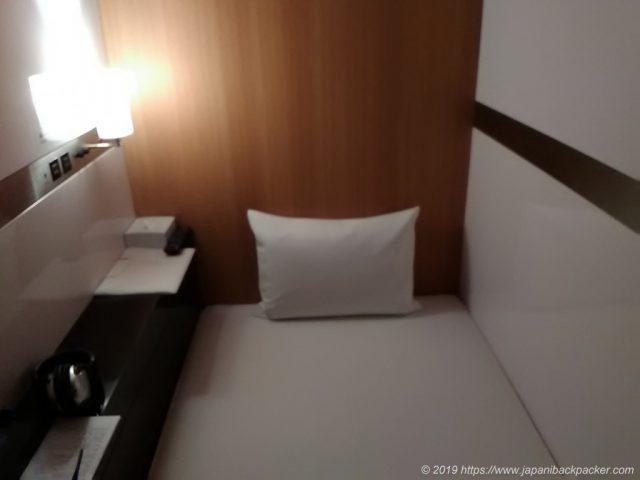 キャビンのベッド