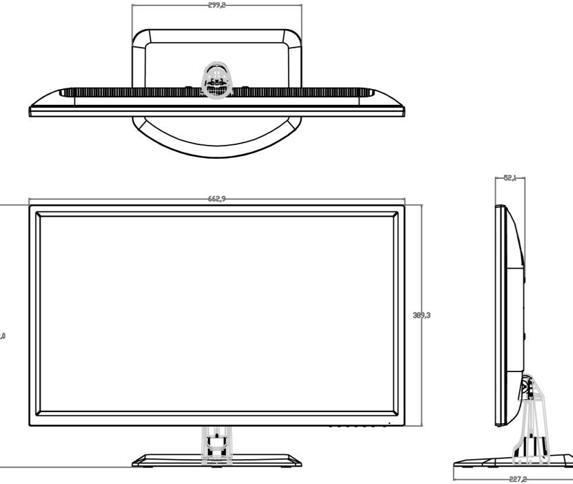 jn-T2820UHD-front-side-outline-black-white