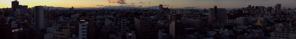 395 megapixel tilt shift panorama of Tokyo