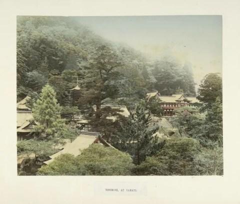 Tonomine at Yamato by Kimbei Kusakabe