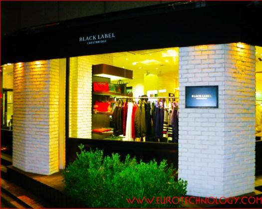 Black Label Crestbridge - Tokyo-Harajuku flagship store, one of three Black Label flagship stores in Tokyo