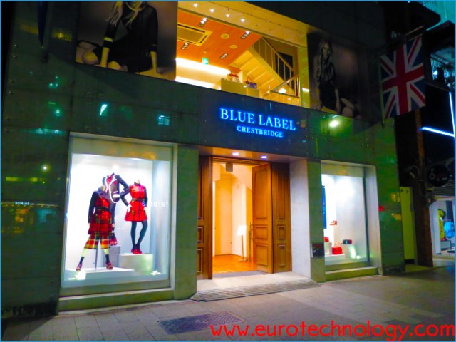 100s of former Burberry Blue Label stores are now converted to Blue Label Crestbridge stores