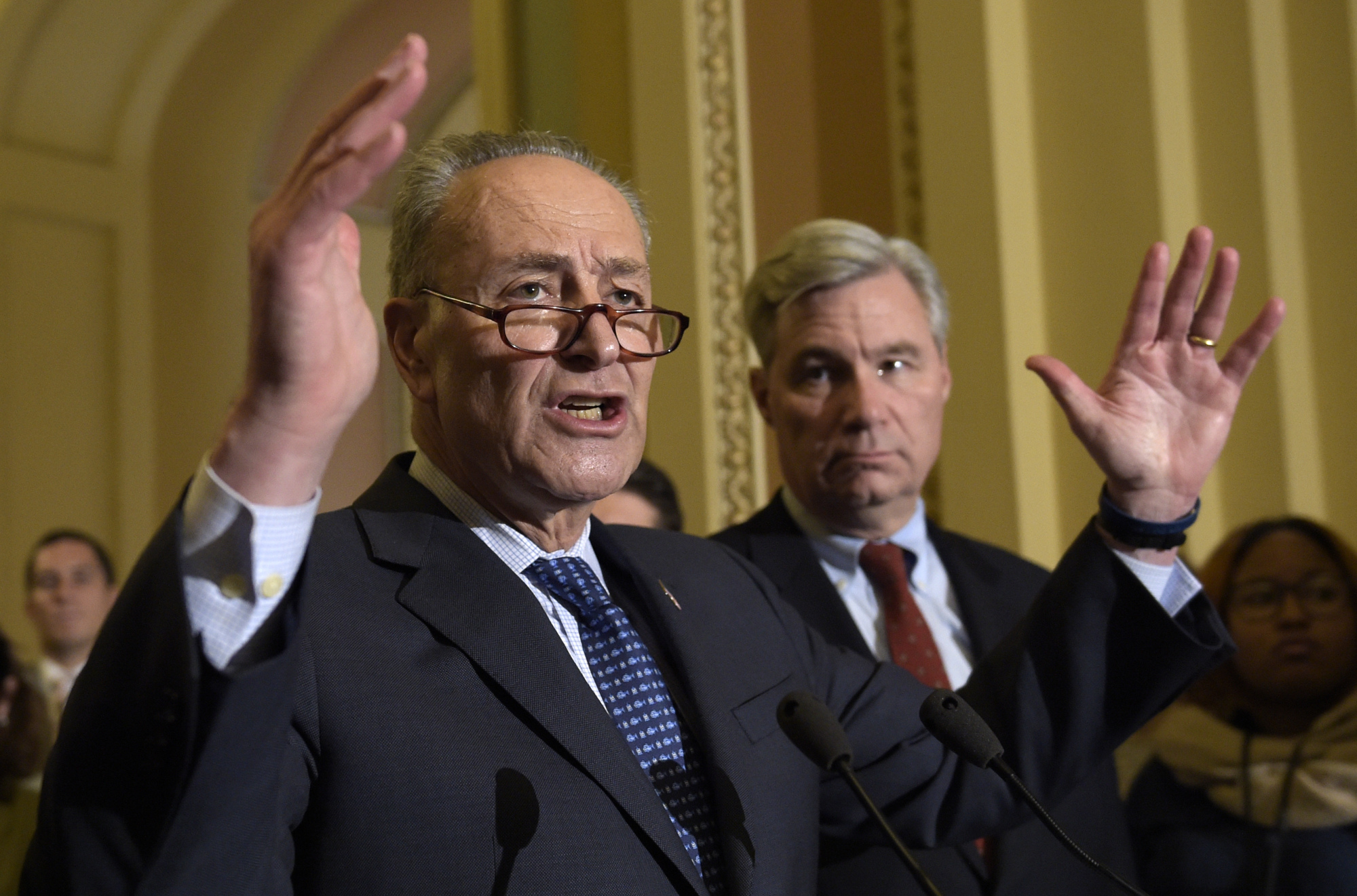 Schumer Says Gorsuch Deflected Questions Avoided Answers Like The Plague