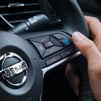 Os controles ProPilot dentro do novo X-Trail SUV são vistos. | NISSAN MOTOR / VIA BLOOMBERG