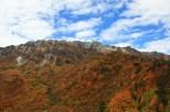 view of Mt Tateyama @3000m+ from Kurobe-daira @1800m