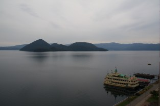 serene lakeview from room