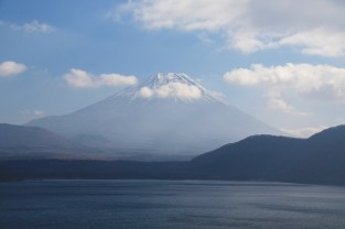 Mt Fuji from Motosu-ko, as featured on 1,000 Yen-note