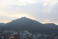 Mt Hakodate view from room