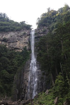 tallest waterfall in Japan @133m