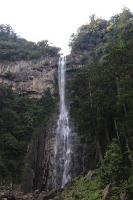 tallest waterfall in Japan @133m