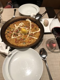 paella for sharing