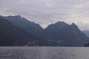 mountains on the Italian side