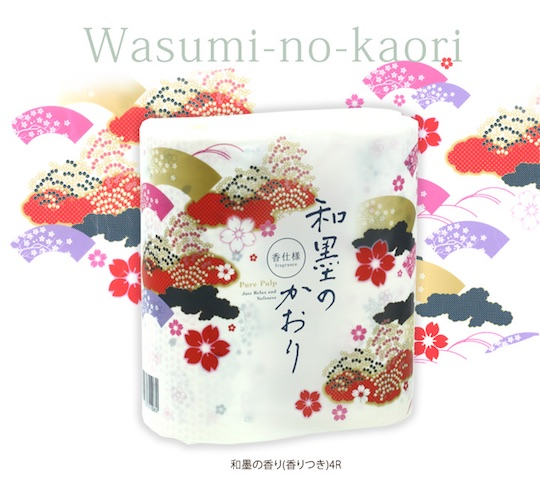 Wasumi Japanese Ink Fragrance Toilet Paper (12 Pack)