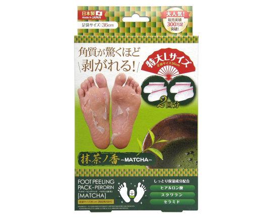 Foot Peeling Pack Matcha Scented Perorin