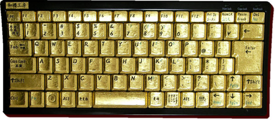 goldkeyboard-gold-keyboard-tastatur