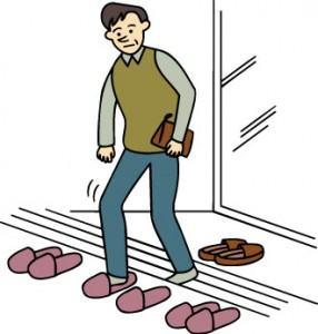 Hábito de tirar sapatos no Japão