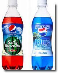 Pepsi e seus sabores exóticos no Japão