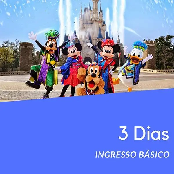 Ingresso Disney 3 Dias