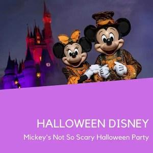 Ingresso Halloween Disney