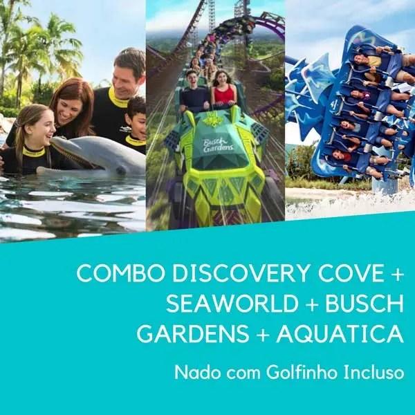 Discovery Cove Golfinho Combo