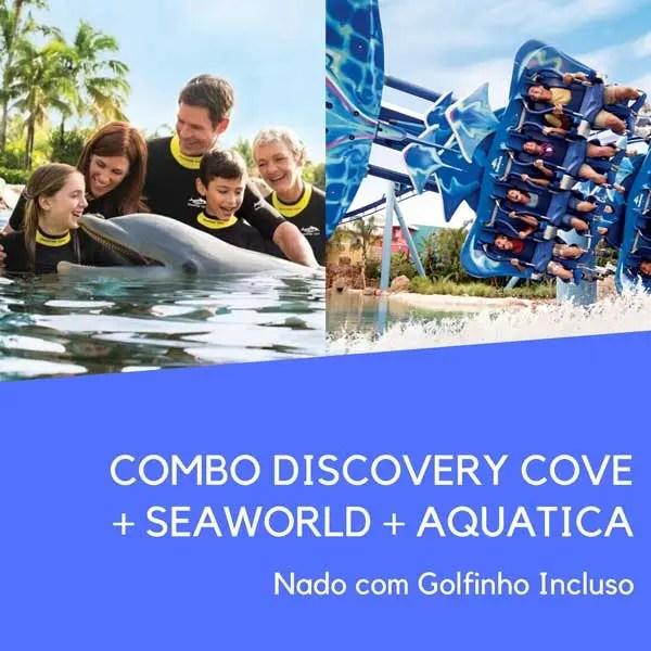 Combo Discovery SeaWorld