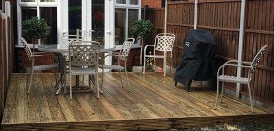Garden Decking Essex (Carpenter Essex)