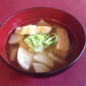 Soupe miso 味噌汁