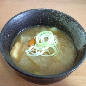 Le radis blanc dans tous ses états 4 : soupe miso au Radis blanc