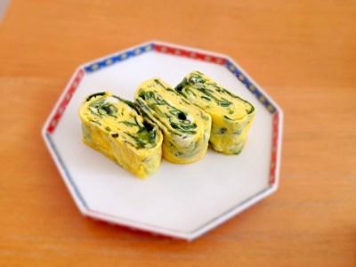 Omelette au wakame