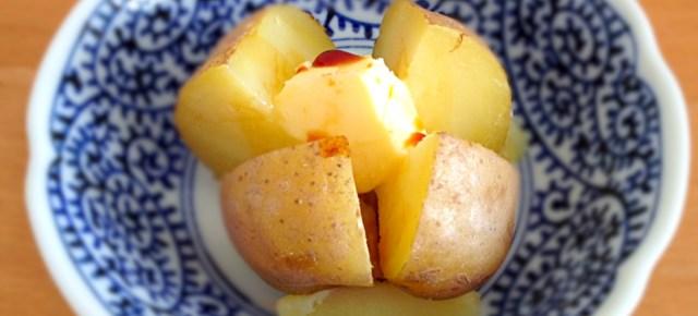 Jagabatâ pomme de terre au beurre じゃがバター