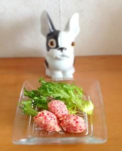 salade aux œufs de lompes