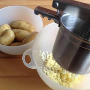 salade aux œufs de lompes (pommes de terres)