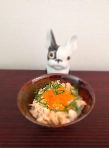 Oyakodon de saumon