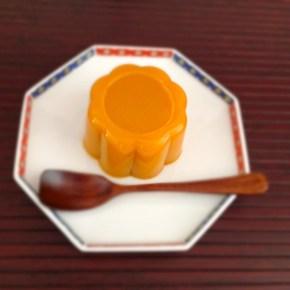 Pudding au potimarron かぼちゃプリン