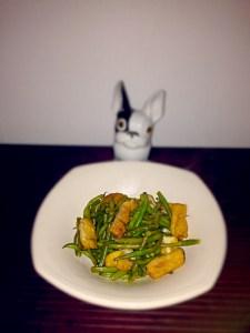 mijoté express de haricots et tofu frit
