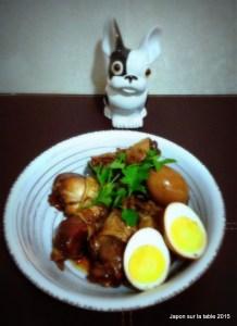 Mijoté au poulet et œuf