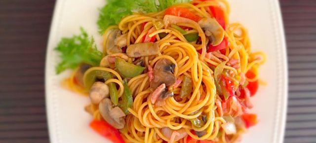 Spaghetti à la napolitaine スパゲッティナポリタン