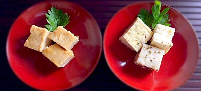 Apéricubes au tofu 豆腐アペリキュ一ブ