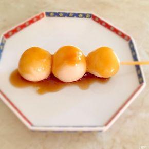 Dango à l'anko ou à la sauce mitarashi