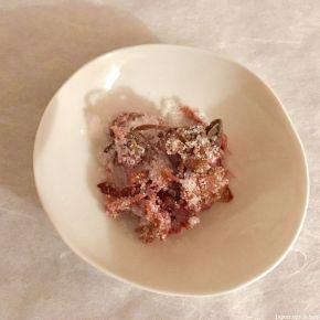 Shiotsuke à la fleur de cerisier 桜の塩漬け