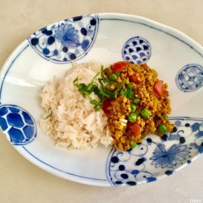Dry curry (vegan) ドライカレー