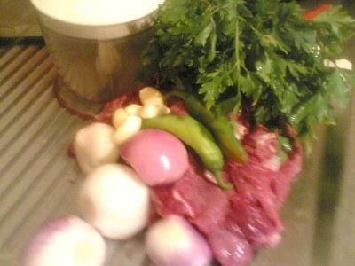 مقادير اللحم المفروم