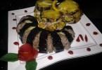 طبق البادنجان بالسردين و الفرماج الاحمر