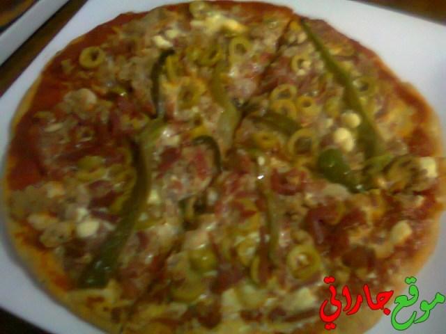 بيتزا سهلة