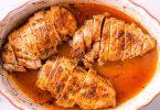 صدر الدجاج في الفرن بطريقة سهلة وصحية
