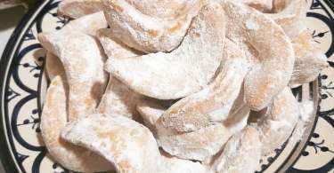 حلوة الهلال بالكاوكاو
